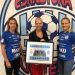 Eskilstuna United tackar Faskunge för stödet