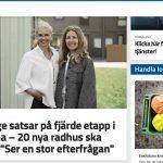 Eskilstuna-Kuriren skriver om nya bostadsetappen i Borsökna