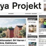 Nya Projekt rapporterar om Brf Harrens produktionsstart