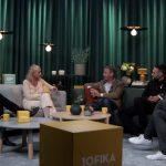 Ankie Bandstigen i talkshow om samhällsutveckling, bygg och fastighet.